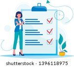 month planning  to do list ... | Shutterstock .eps vector #1396118975