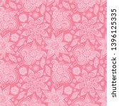 paisley. seamless vector... | Shutterstock .eps vector #1396125335