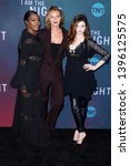 """Small photo of LOS ANGELES - MAY 9: Golden Brooks, Connie Nielsen, India Eisley at the """"I Am The Night"""" FYC Event at the Television Academy on May 9, 2019 in North Hollywood, CA"""