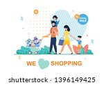 banner with text we love... | Shutterstock .eps vector #1396149425