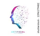 futuristic artificial...   Shutterstock .eps vector #1396179482