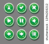 round green buttons for...