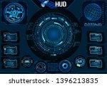 hud satellite ui. navigator ...