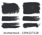grunge brush strokes.abstract... | Shutterstock .eps vector #1396227128