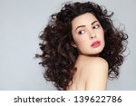 young beautiful woman with... | Shutterstock . vector #139622786