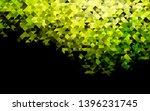 dark green  yellow vector...   Shutterstock .eps vector #1396231745