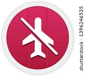 no flight   vector app icon   Shutterstock .eps vector #1396246535