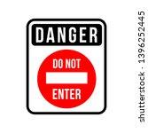do not enter sign. no parking...   Shutterstock .eps vector #1396252445
