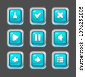 square buttons for interfaces...