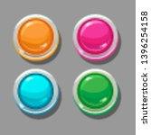 round orange  pink  blue and...