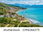 panoramic view of agnone... | Shutterstock . vector #1396266275