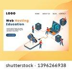isometric artwork concept of...   Shutterstock .eps vector #1396266938