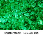 crystal pendants background in ... | Shutterstock . vector #139631105