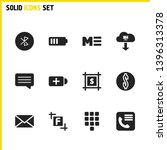 user icons set with dollar ...