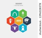simple set of bandit  bull...   Shutterstock .eps vector #1396328378