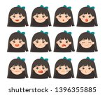 isolated vector set of... | Shutterstock .eps vector #1396355885