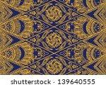 seamless javanese batik pattern | Shutterstock .eps vector #139640555