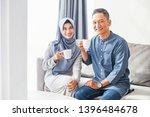 beautiful indonesian muslim... | Shutterstock . vector #1396484678