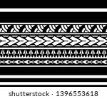 tribal pattern tattoo ... | Shutterstock .eps vector #1396553618