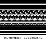 maori ornament tattoo isolated... | Shutterstock .eps vector #1396553642