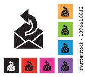 reply email icon with different ...   Shutterstock .eps vector #1396616612