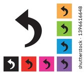 reply icon with different color ...   Shutterstock .eps vector #1396616648