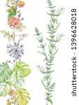 colorful flower on white... | Shutterstock . vector #1396628018