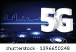 5g network connection on... | Shutterstock .eps vector #1396650248