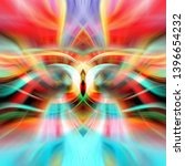 abstract multicolored glowing... | Shutterstock . vector #1396654232