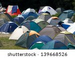 Many Tents At A Festival...