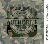 authorize on camouflaged... | Shutterstock .eps vector #1396702208
