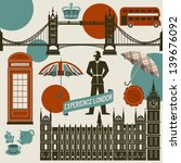 london landmarks  symbols and... | Shutterstock .eps vector #139676092