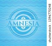Amnesia Water Badge Background. ...