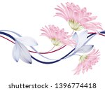 seamless floral abstract... | Shutterstock .eps vector #1396774418