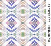 tibetan fabric. repeat tie dye... | Shutterstock . vector #1396836758
