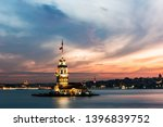 maiden's tower in istanbul ... | Shutterstock . vector #1396839752