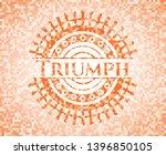 triumph abstract orange mosaic...   Shutterstock .eps vector #1396850105