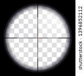 sniper scope. view through... | Shutterstock .eps vector #1396852112