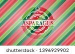 asparagus christmas emblem....   Shutterstock .eps vector #1396929902