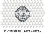 injured realistic grey emblem...   Shutterstock .eps vector #1396938962