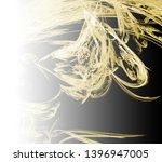 yellow abstract fractal... | Shutterstock . vector #1396947005