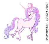 the most beautiful cute magic... | Shutterstock .eps vector #1396952408