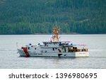 ketchikan  alaska   may 15 ... | Shutterstock . vector #1396980695