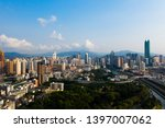 a drone aerial view of the city | Shutterstock . vector #1397007062