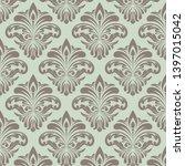 retro wallpaper  modern stylish ... | Shutterstock .eps vector #1397015042