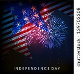 4th of july  american... | Shutterstock .eps vector #139703308