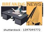 stock illustration. happy...   Shutterstock .eps vector #1397095772