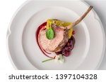 calf or pork ribs cooked in the ... | Shutterstock . vector #1397104328