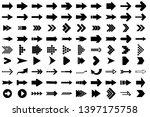 isolated arrow vector 3d button ... | Shutterstock .eps vector #1397175758