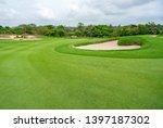 golfcourse  beautiful landscape ... | Shutterstock . vector #1397187302